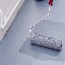 Peindre un escalier en b ton avec la peinture sol ciment - Peindre un escalier en beton ...