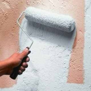 Peindre Un Enduit Ciment Avec La Peinture Mur Extérieur