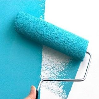 Peindre Un Mur Abîmé Avec La Peinture Mur Intérieur