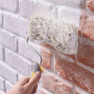 Peindre Une Façade Fissurée Avec La Peinture Façade