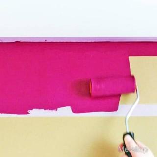 Peindre Un Mur En Plâtre Avec La Peinture Mur Et Plafond